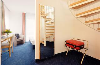Suite Maisonette, Schlafbereich (untere Etage)