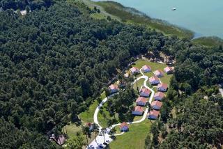 Seepark Luftaufnahme