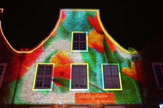 Lichtspektakel im Holländischen Viertel