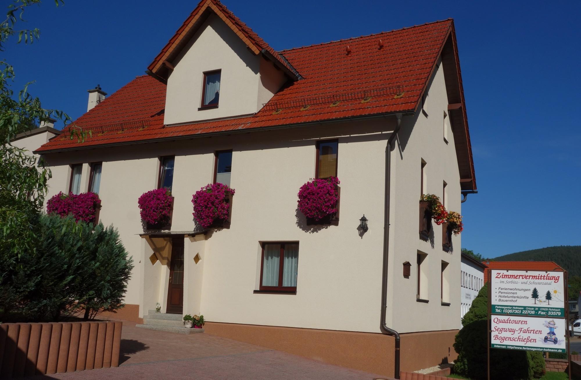 Gästehaus Hofmann (Rohrbach). Ferienwohnung S Ferienwohnung in Thüringen