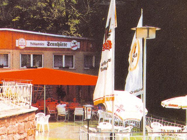 Waldgaststätte Sennhütte (Bad Frankenhau  in Thüringen