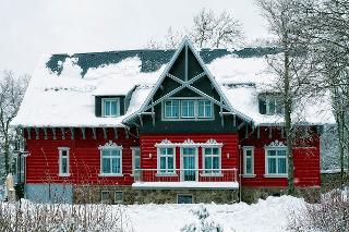 Villa Silva Oberhof Hausansicht Winter