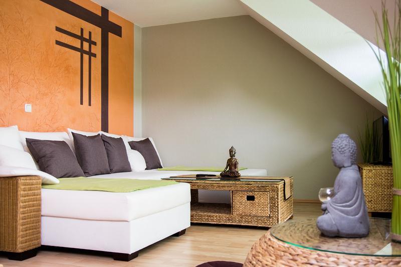 9C Nr. 2 - Fewo Japan - Wohnzimmer mit Schlafbereich