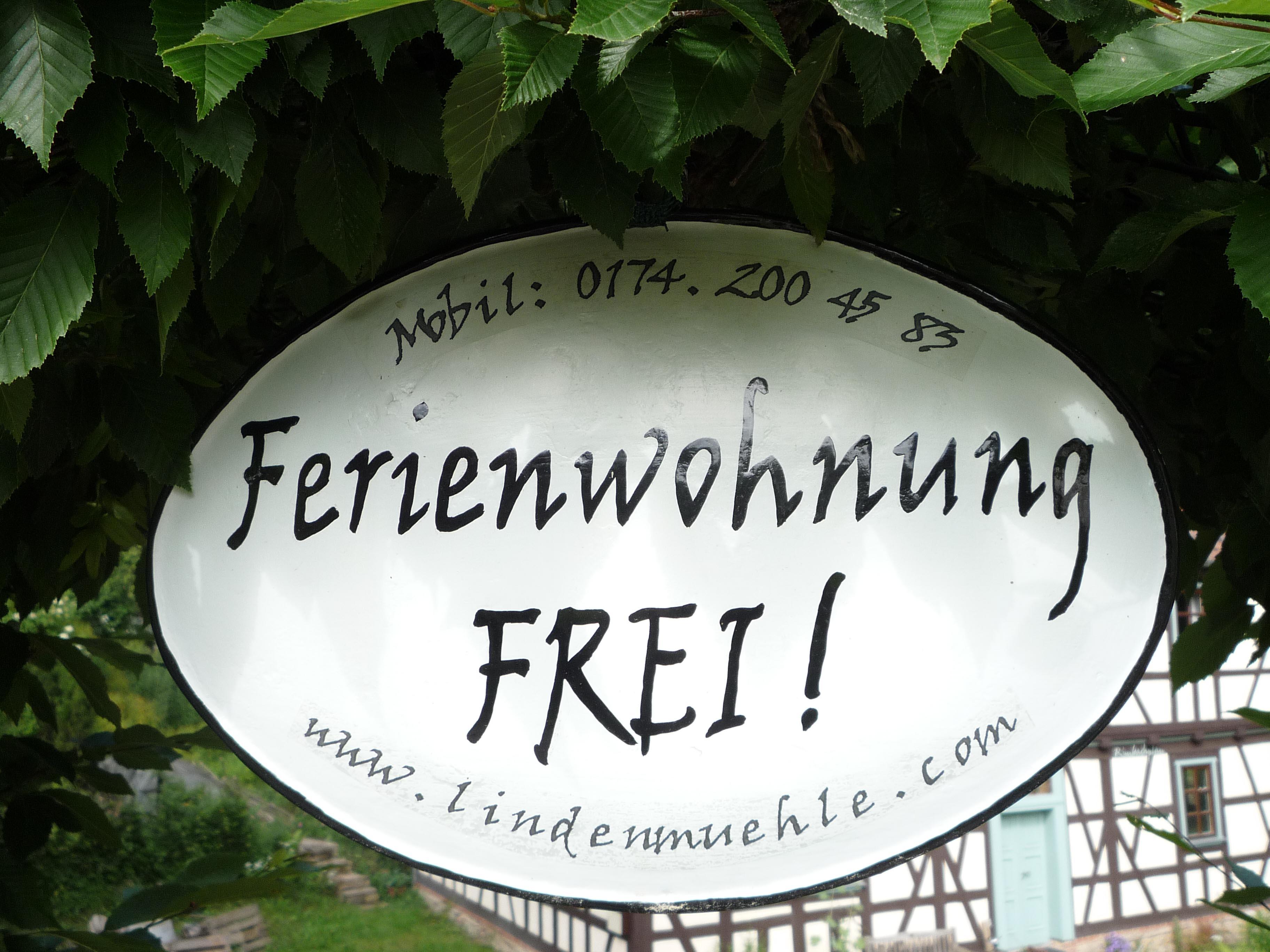 Holiday apartment Ferienwohnungen in der Lindenmühle (Bad Liebenstein (OT Schweina)). Ferienwohnung Lindenmü (2726189), Bad Liebenstein, Thuringian Forest, Thuringia, Germany, picture 8