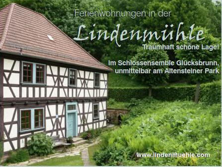 Holiday apartment Ferienwohnungen in der Lindenmühle (Bad Liebenstein (OT Schweina)). Ferienwohnung Lindenmü (2726189), Bad Liebenstein, Thuringian Forest, Thuringia, Germany, picture 2