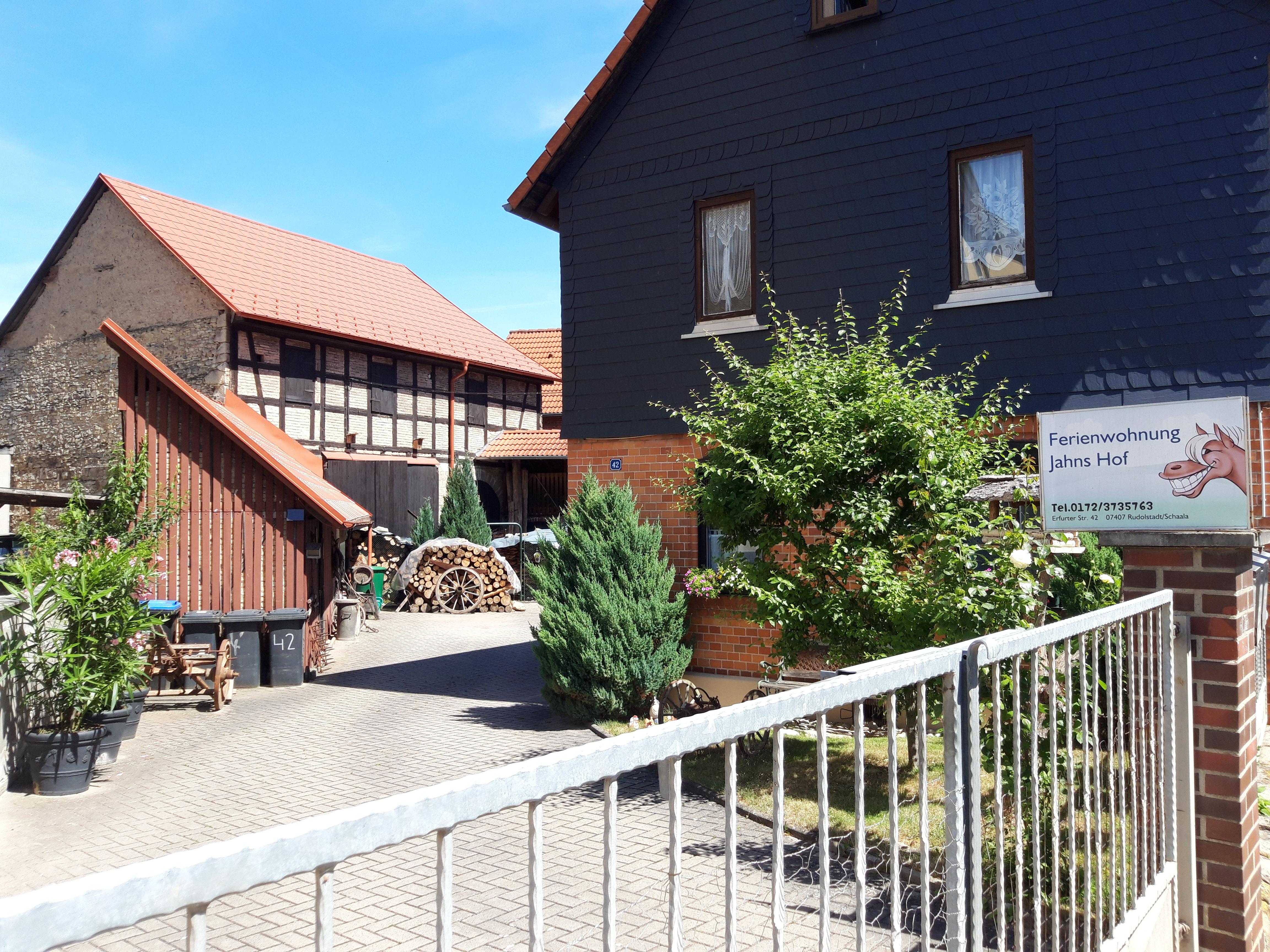 Ferienwohnung Jahns Hof (Rudolstadt). Ferienwohnun