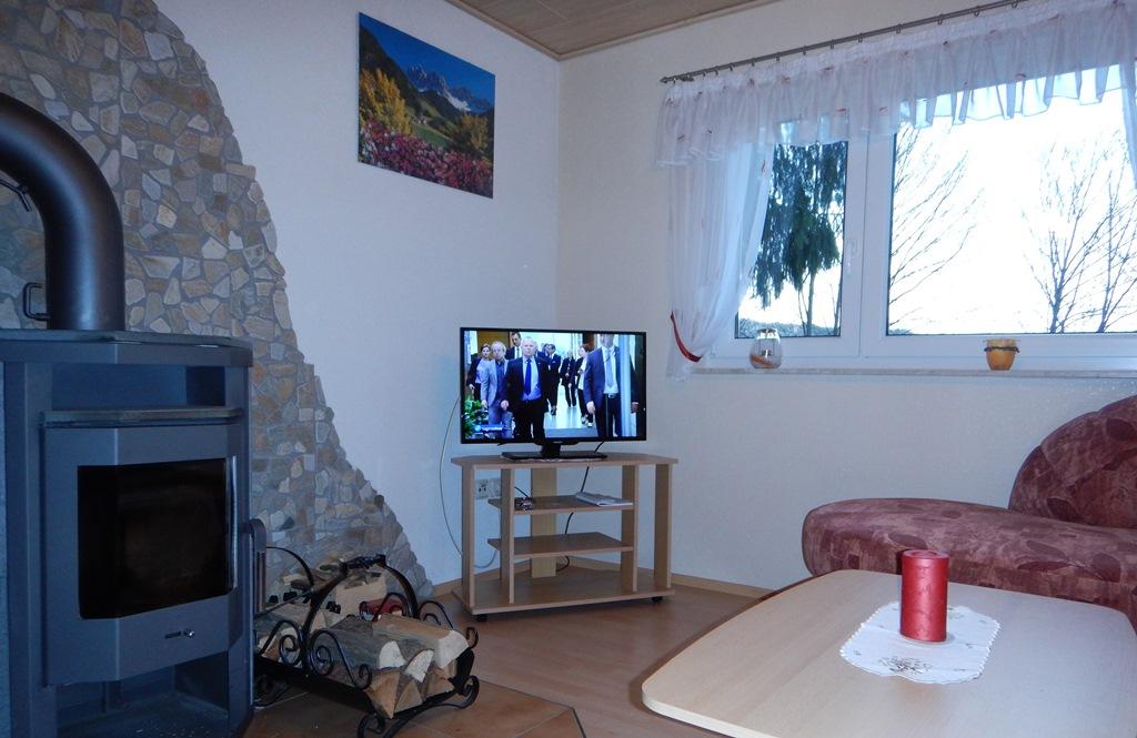 Haus am Wald (Mosbach) (Wutha-Farnroda). Ferienhau Bungalow