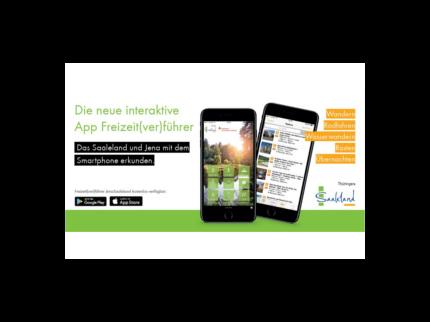 Flyer App Freizeit(ver)Führer JenaSaaleland