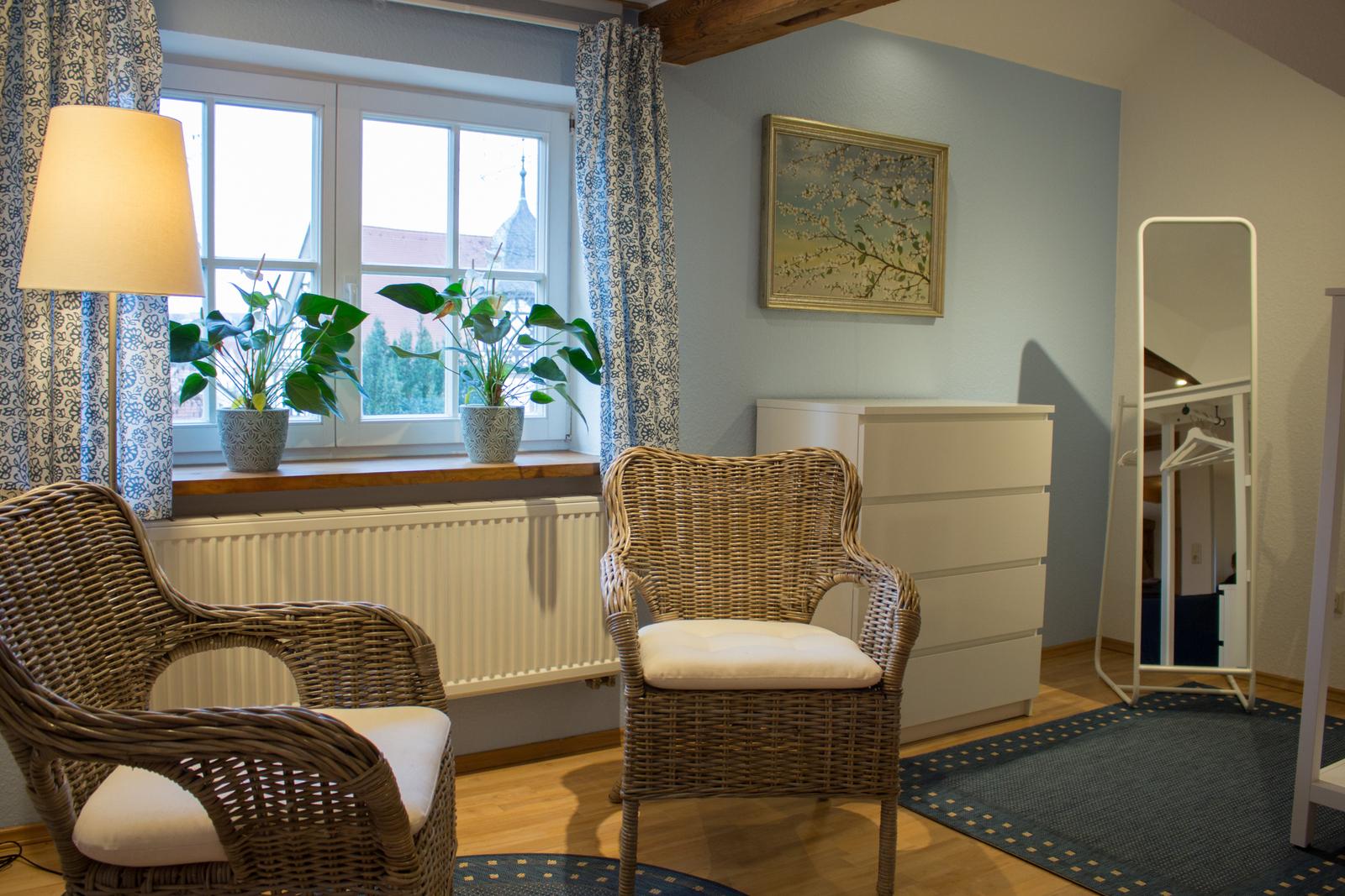 Holiday apartment Ferienwohnungen im alten Rathaus (Bad Liebenstein). Ferienwohnung Schwalbennest (2716014), Bad Liebenstein, Thuringian Forest, Thuringia, Germany, picture 7