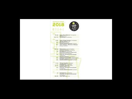 Veranstaltungskalender Thüringer Tischkultur 2018