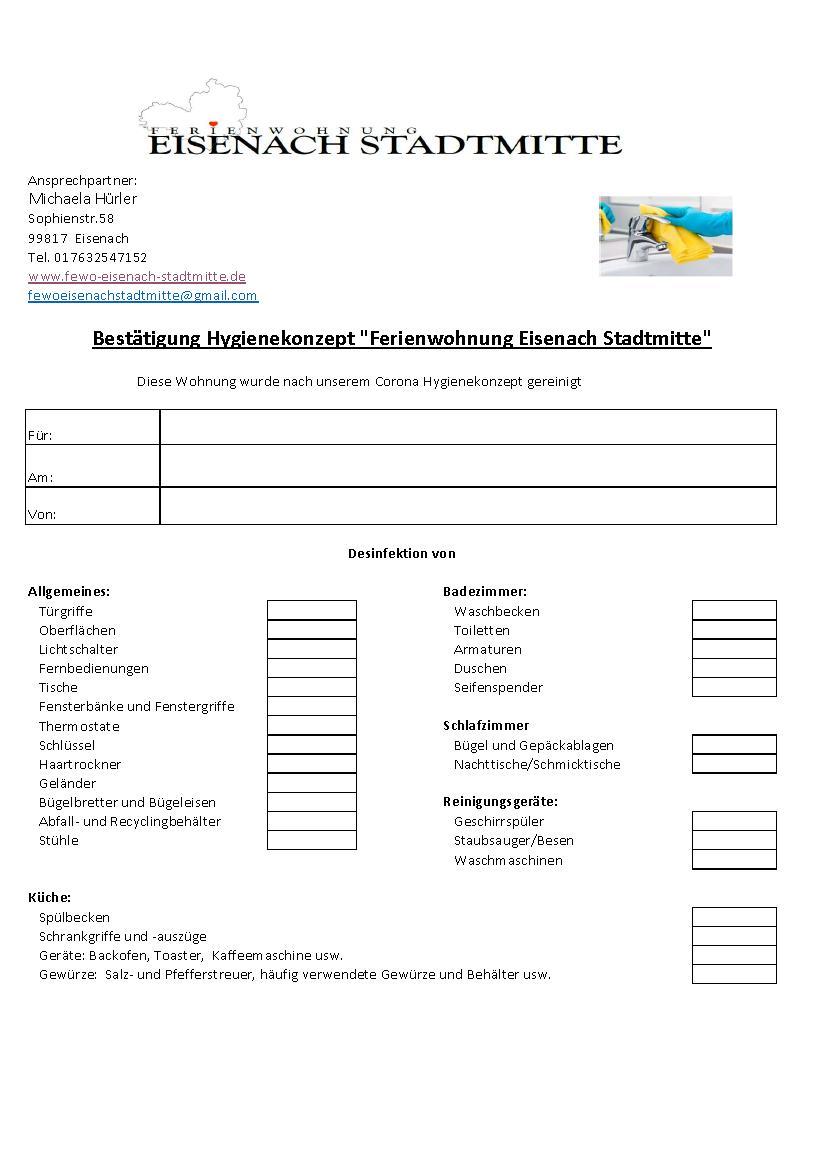 """Ferienwohnung """"Eisenach Stadtmitte"""" (Eis"""